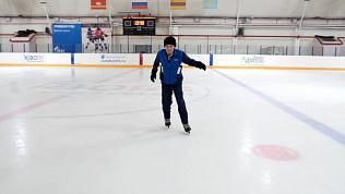 Фигурист-любитель в 83 года регулярно катается на коньках
