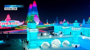 Город изо льда и снега расположился на площади 600 км²