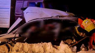Пять человек погибли на трассе Челябинск-Троицк