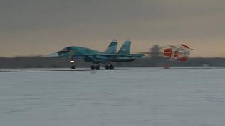 Парные виражи боевых Су-34