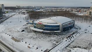 Полёты над Челябинском: Ледовая арена «Трактор»