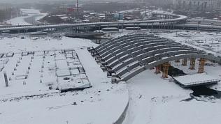 Полёты над Челябинском: строительство конгресс-холла