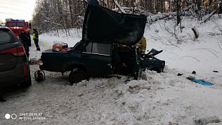 КИА пошёл на таран: два человека погибли на трассе М-5