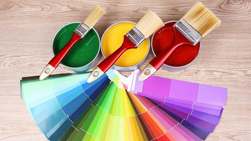 Как выполняется колеровка красок для отделки интерьера