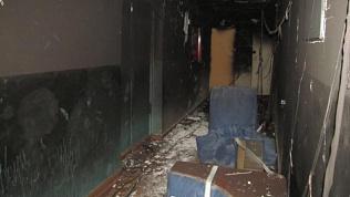 Пожар в «курилке»: ночью эвакуировали людей из студенческого общежития в Челябинске
