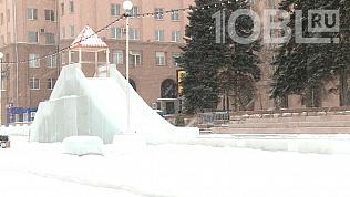 Судьбу главного ледового городка Челябинска решают специалисты