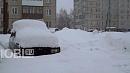 Челябинскую область накрыли мощные снегопады