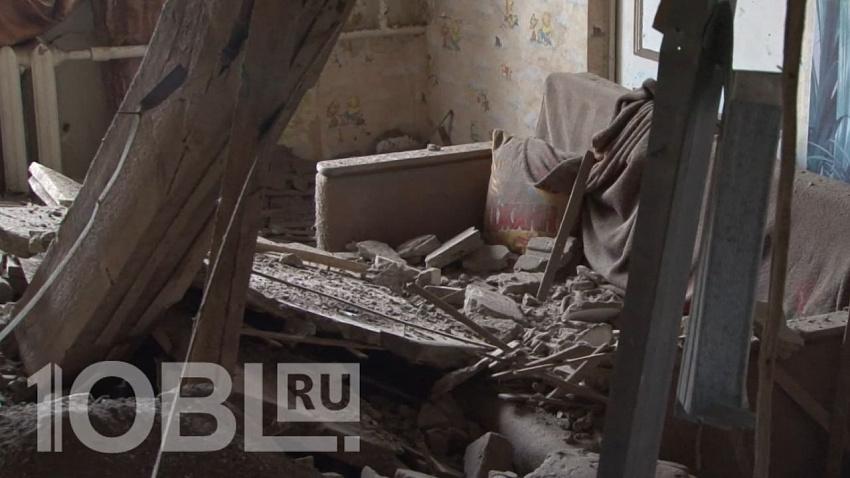 Власти прокомментировали обрушение потолка в жилом доме Златоуста