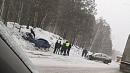На трассе М-5 столкнулись два автомобиля
