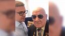 Алексей Текслер поздравил своего дедушку с днём рождения
