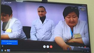 Челябинские врачи провели первый телемост с коллегами из Магадана