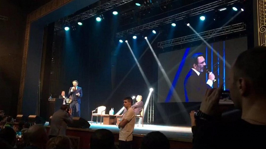 «Партия роста» и Сергей Шнуров начали свою предвыборную кампанию в Челябинске