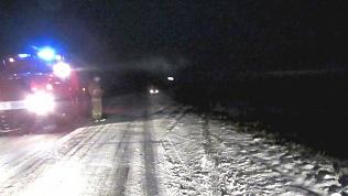 Мужчина упал в овраг со снегохода в Челябинской области