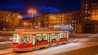 Школьницу высадили из трамвая поздно вечером в Магнитогорске