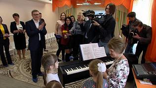 Алексей Текслер открыл первый садик в Академ Риверсайд
