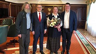 Алексей Текслер провел встречу с Федором Конюховым