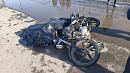 Мотоциклист перевернулся на дороге в Красноармейском районе