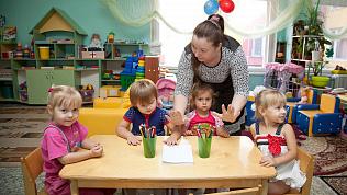 Количество детей в дежурных группах детсадов Челябинской области уменьшается
