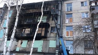 В Магнитогорске полицейский спас из пожара женщину