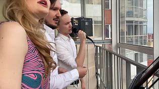 Балконный концерт солистов Театра оперы и балета