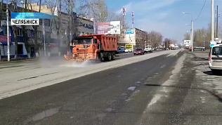В Челябинской области дезинфицируют улицы