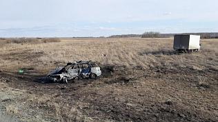 Двое человек погибли на трассе Копейск — Луговой