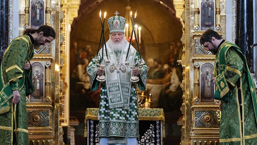 Патриарх Кирилл обратился с посланием к верующим