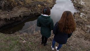 Две девочки геройски спасли детей из-подо льда