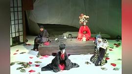 «Самоубийство влюбленных на острове Небесных Cетей»  — постановка Челябинского театра драмы имени Наума Орлова