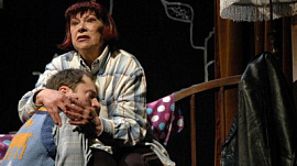 «Похороните меня за плинтусом» — постановка Челябинского театра драмы имени Наума Орлова. 16+
