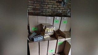 Сигареты на сумму 37 миллионов рублей нашли полицейские у магнитогорца