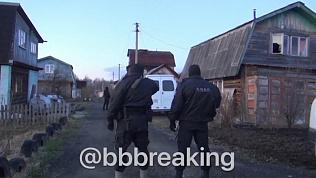 Оперативное видео ликвидации боевиков в Екатеринбурге