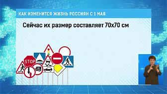 Как изменится жизнь россиян с 1 мая?