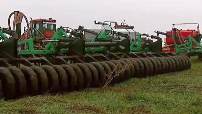 В 11 районах Челябинской области аграрии начали сеять яровые