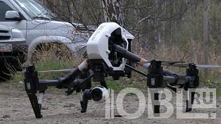 МЧС с квадрокоптера проверяет соблюдение особого противопожарного режима на территории Челябинской области