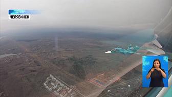 Летчики ЦВО провели репетицию воздушного парада