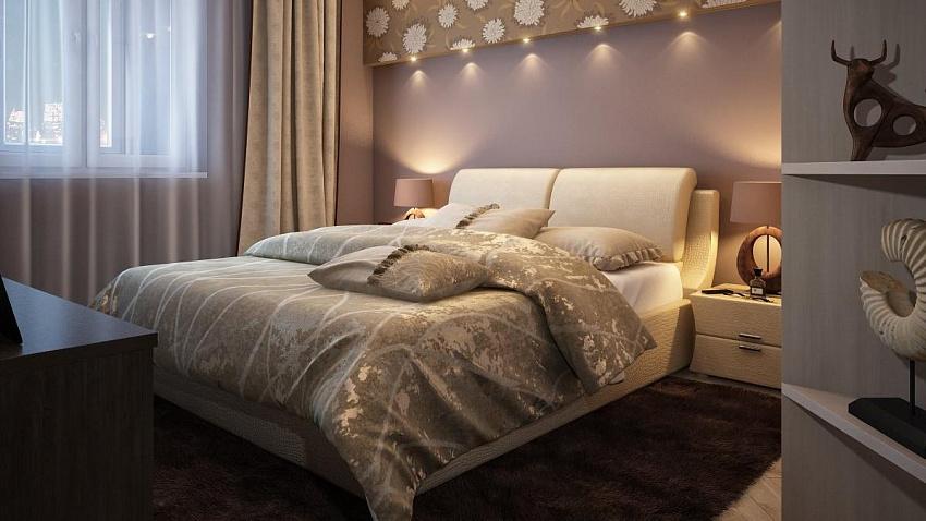 Дизайнерские решения для больших и маленьких спален