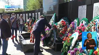 Южноуральцы возложили цветы и венки