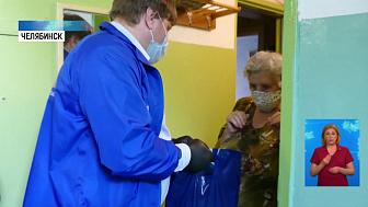 Волонтёры продолжают помогать ветеранам