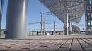 Новую платформу построили для пригородного вокзала в Челябинске