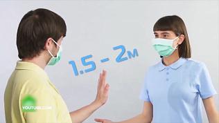 В социальных сетях становится популярным видео о медицинских масках