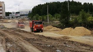 Строительство новой дороги началось в Челябинске