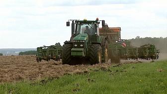 Аграрии закончат посевную до 10 июня