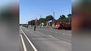 «Тоннель» организовали на въезде в Челябинскую область со стороны Екатеринбурга