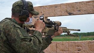 Военные снайперы сняли видео о своих тренировках