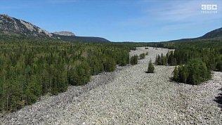 Видео Большой каменной реки Национального парка «Таганай»
