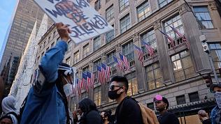 Уроженец Магнитогорска рассказал о протестах и беспорядках в Нью-Йорке