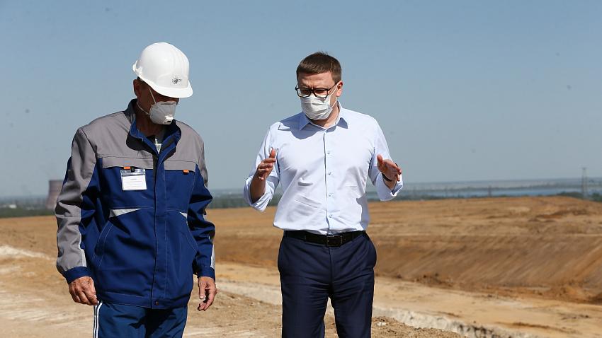 Алексей Текслер оценил работы по рекультивации городской свалки