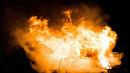 Дом и две «легковушки» выгорели ночью под Миассом