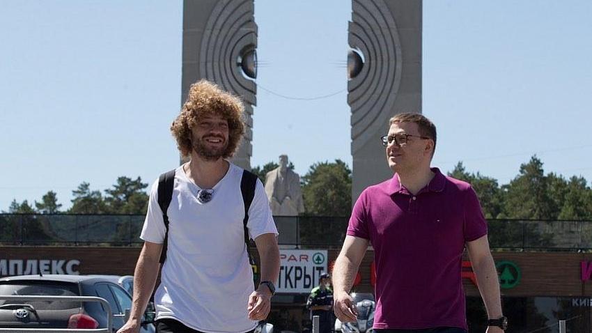 Алексей Текслер и Илья Варламов обсудили благоустройство Челябинска